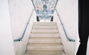 Precast Concrete Stairs In Sports Stadium