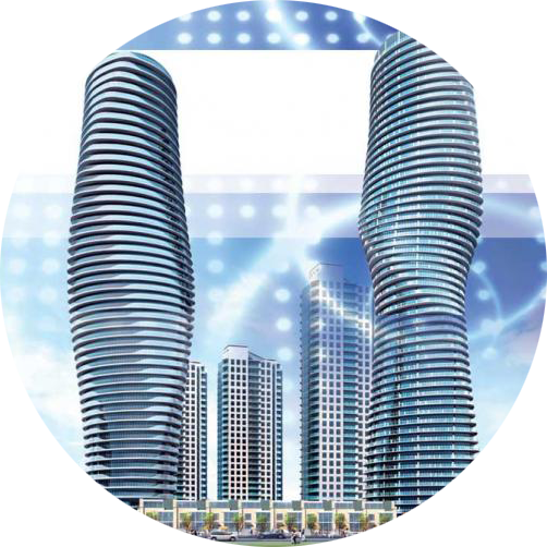 Concept Art Of Marilyn Monroe Towers In Mississauga Ontario