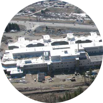 Aerial Photo Of Hospital