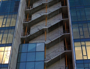 Precast Concrete Stairs For The RBC Office Building Image